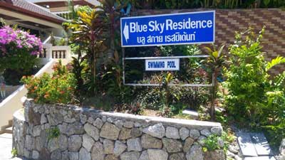 Hotel facilities Blue Sky Residence Patong
