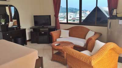 Hotel Blue Sky Residence Patong Zimmer