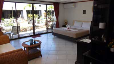 Deluxe Room Hotel Blue Sky Residence Patong